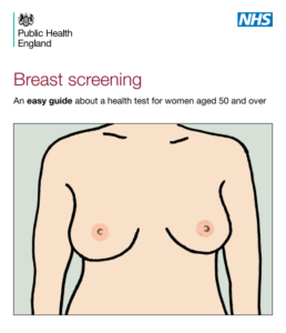 NHS breast screening guide